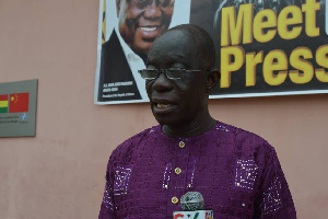 Municipal Chief Executive for Aowin, Samuel Adu-Gyamfi