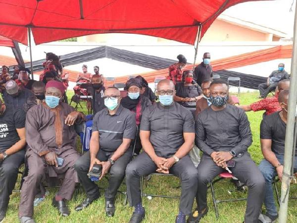 Football family mourns the late Opoku Afriyie