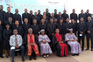 A total of 33 new pastors were inducted into the pastoral ministry of the church.