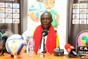 Black Princesses coach, Yusif Basigi