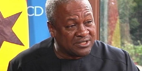 Akufo-Addo has nothing to show after borrowing GHC140 billion – Mahama