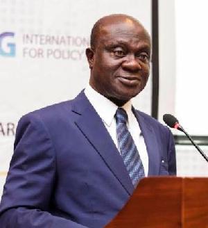 Professor George Gyan-Baffour, Minister of Planning
