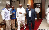 President John Dramani Mahama and President-elect Nana Akufo-Addo
