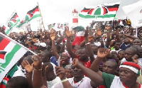 NDC supporters.