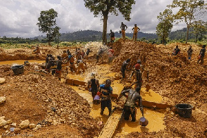 Operation Vanguard has arrested about 1155 illegal miners since it commenced operation in July