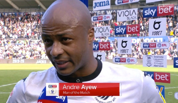 Swansea City manager declares transfer stance on André Ayew