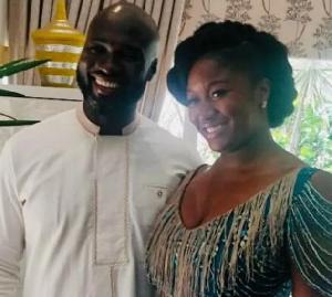 Edwina Akufo-Addo with her husband Kwabena Jumah