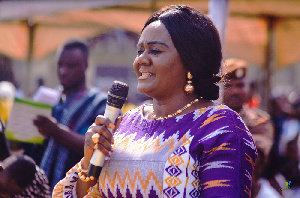 Barbara Oteng Gyasi is minister for tourism, arts.and culture