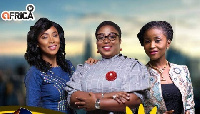 Nikki Samonas, Obuobia Darko Opoku and Khadijat El- Alawa