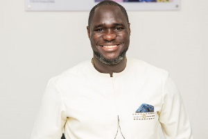 Palgrave Boakye-Danquah, Executive Director at the Kandifo Institute