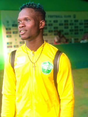 Dreams FC attacker Emmanuel Ocran