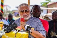 Jerry John Rawlings, former President of Ghana