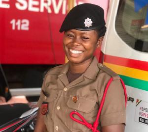 Fire Service personnel, Adjei Boadiwaa Isabella