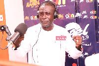 Suspended host of Angel FM's morning show, Captain Smart