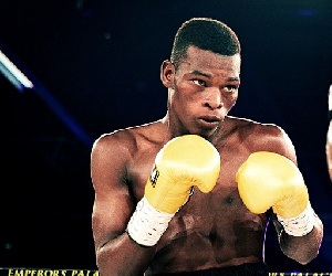 Ghanaian boxer, Richard Commey