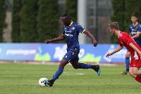 Agyemang-Badu made his Verona debut on Sunday