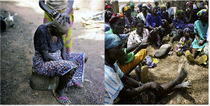Some of the inmates of the Gambaga Witch Camp