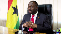 Communications Minister, Dr Omane Boamah