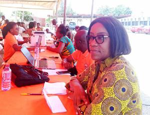 Deputy Director-General of Operations and Benefits, Ms. Laurette Korkor Otchere