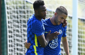 Ghana defender Baba Rahman travels with Chelsea squad for pre-season in Ireland