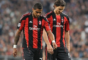 Boateng has advised Milan to keep hold of Ibra who is on a short-term contract