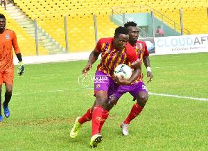 Kofi Kordzi scored the winning goal