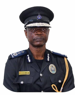 GPS Director General In charge of Research, Planning and Transformation, COP Paul Manly Awuni