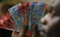 The cedi recently hit an all-time low recording a rate of GHS5.86 to a $1