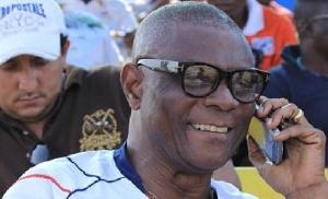 Inter Allies technical director, Willie Klutse