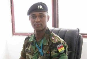 The late Captain Maxwell Mahama