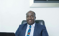 Arnold Parker, Managing Director of afb Ghana