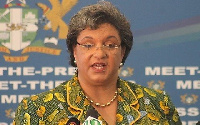 Minister of Foreign Affairs, Hanna Tetteh