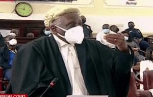 Tsatsu Tsikata is the lead lawyer for Mr. John Dramani Mahama, the petitioner