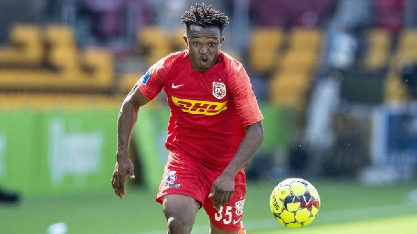Isaac Atanga powers Nordsjaelland to victory in friendly against Viborg