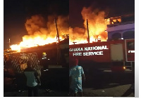 According to reports the National Fire Service team did not arrive on time
