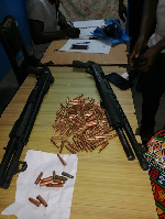 A reinforcement patrol team also intercepted an Urvan bus suspected to be linked to the robbery