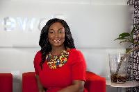 Angela Mensah-Poku, Enterprise Business Director at Vodafone