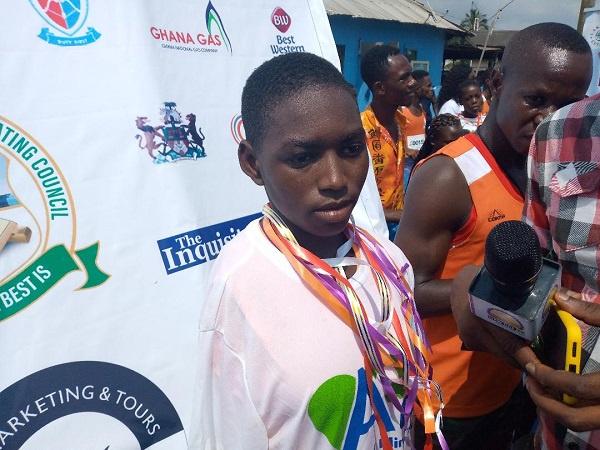 Meet Diana Kumbetel, the amputated long distance runner