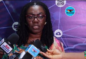 Communications Minister, Ursula Owusu-Ekuful