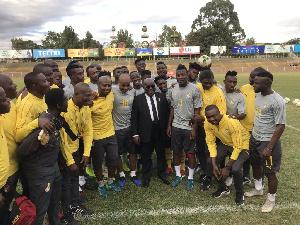 Akoffo Addo Black Stars Ethiopia