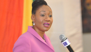 Jean Mensa, Chairperson of the Electoral Commission (EC)