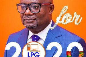 Percival Kofi Akpaloo, the Flagbearer of the Liberal Party of Ghana (LPG)