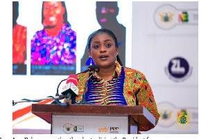 Deputy Information Minister, Nana Ama Dokua Asiamah