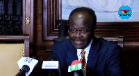 Founder of the Progressive People's Party, Dr. Papa Kwesi Nduom