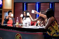 Hosts of Celebrity Fan Zone on Viasat 1 celebrates 1 year anniversary