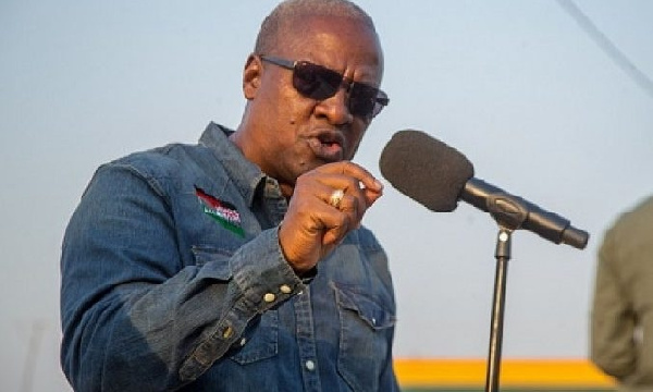 \'You\'re always scared to chastise Akufo-Addo but quick to condemn NDC; be fair!\' – Mahama to chiefs