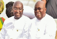 President Akufo-Addo and his vice, Dr Bawumia