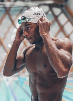 Ghanaian Swimmer, Abeiku Jackson