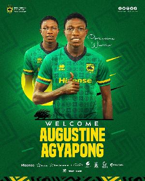 Teenager Augustine Agyapong Has Joined Asante Kotoko.jfif