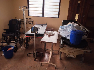 The items allegedly donated by Dr Ayensu Danquah